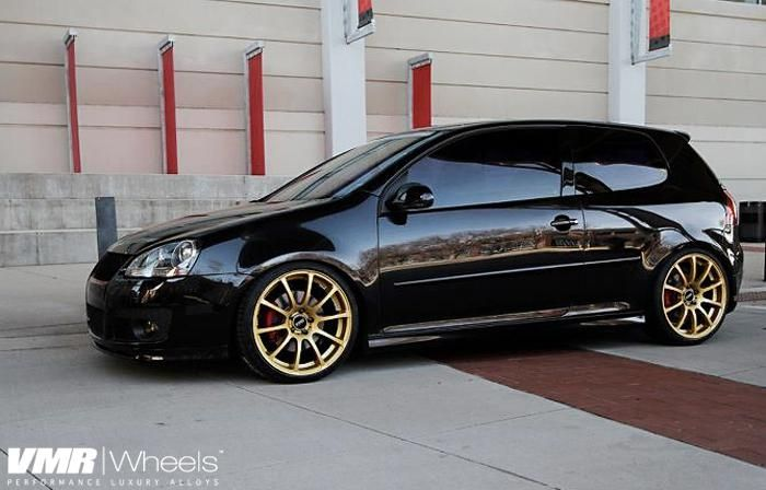 Vmr Wheels Vw Gti Black V701 19 Custom Powdercoat 1668