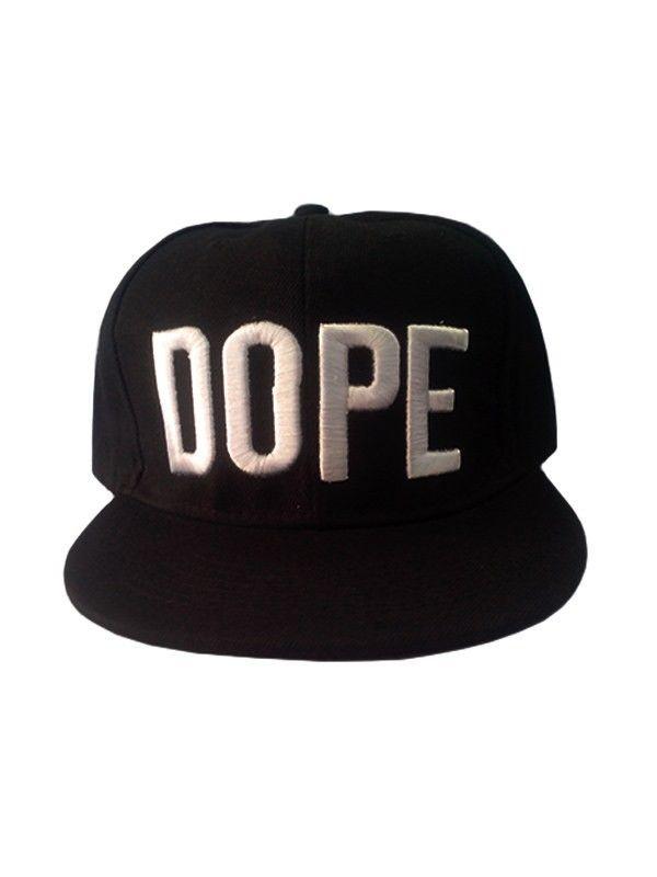 Gorra Dope Negra 8  4afe05efe73