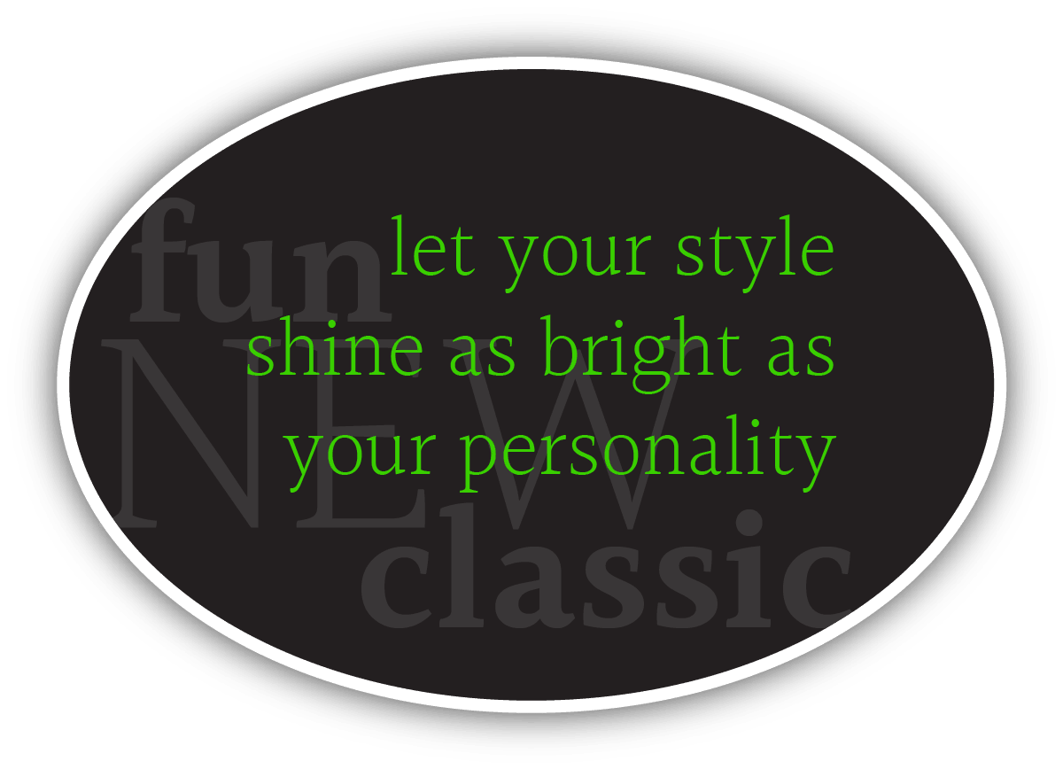 Let your style shine as bright as your personality