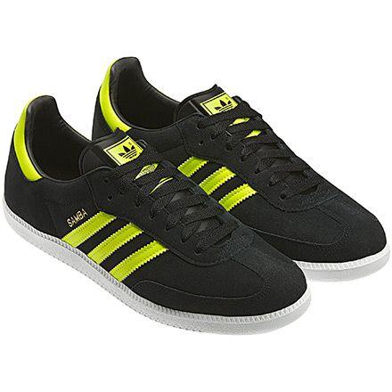 bd84b318146b Adidas Samba black   running white   electricity