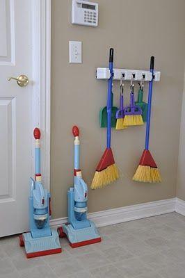 kid cleaning stuff