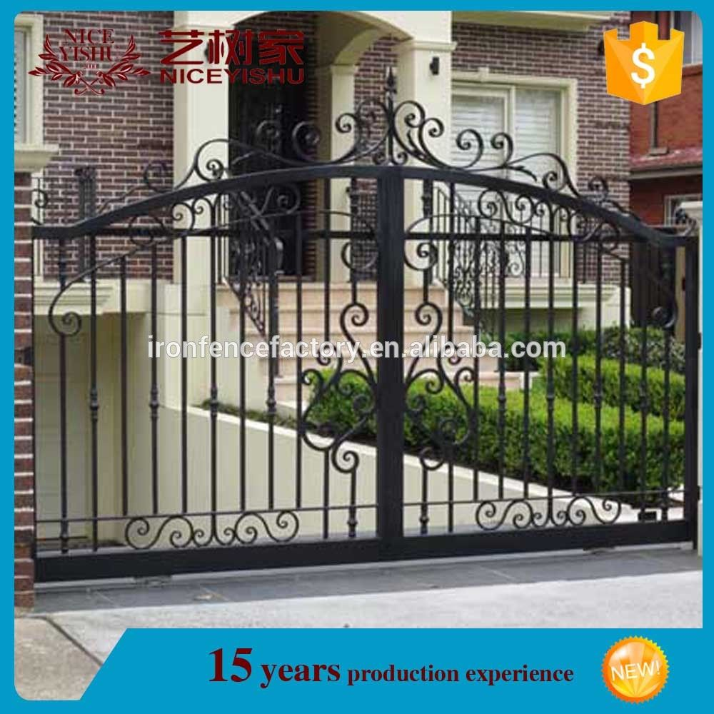 Modern Italian Style Wrought Iron Main Gates X2f Steel Fence Gate X2f Metal Fence Gate Find Complete Detail House Gate Design Metal Fence Gates Modern Gate