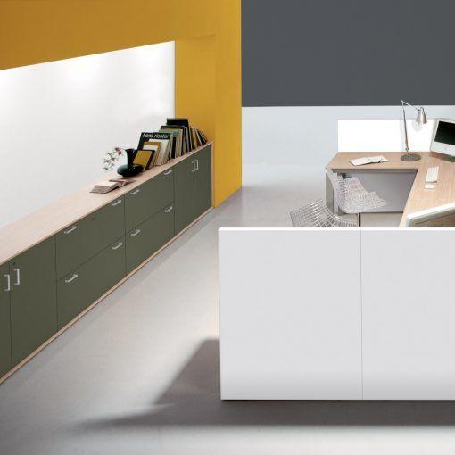Shelter reception - Centrufficio | Bancone reception ...