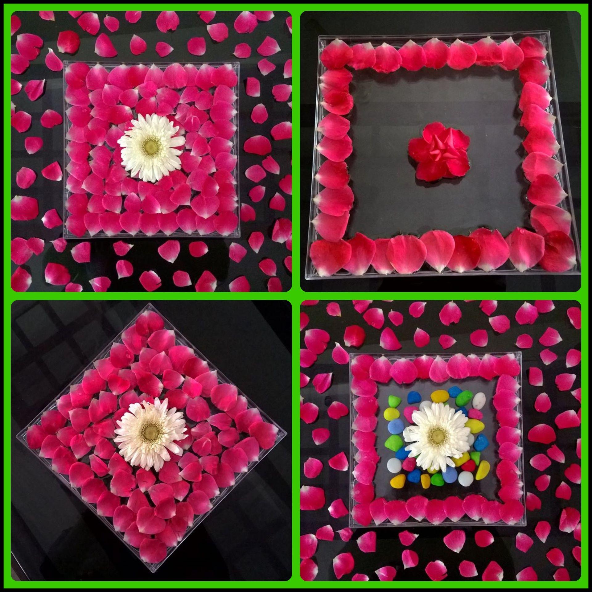 Floating flowers Rangoli designs flower, Flower rangoli