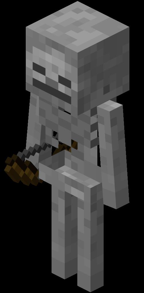 Esqueleto Minecraft Wiki Oficial Minecraft Minecraft Wither Minecraft 1