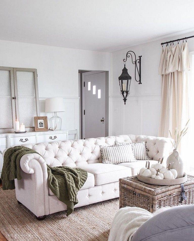 35+ Good DIY Farmhouse Living Room Decorating Ideas (With