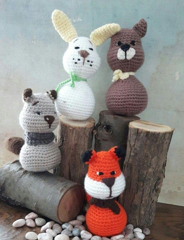 Amigurumi #Häkeln #gehäkelt #Wolle #Winter #Weihnachten #Dekoration ...
