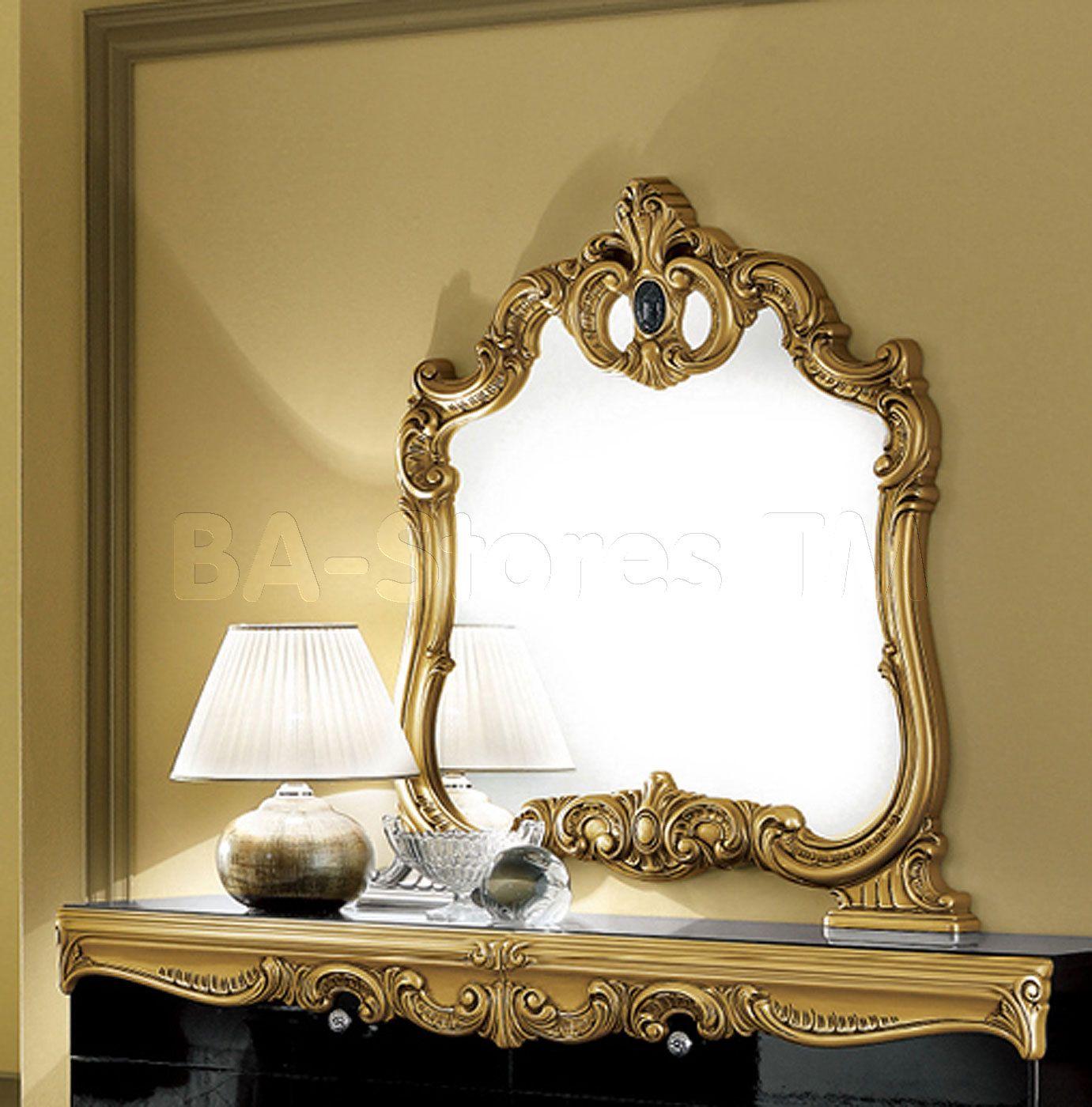 e22bd379e85 Shop for Barocco Gold Mirror - ESF Furniture