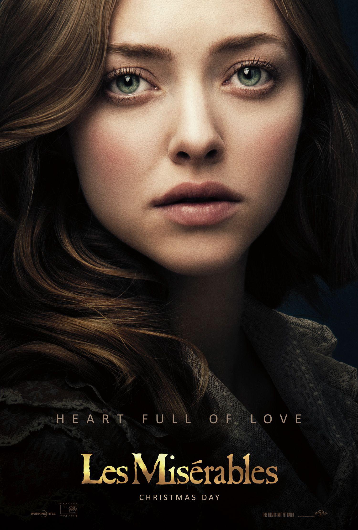 Amanda Seyfried Sex Scandal heart full of love. amanda seyfried is cosette in les