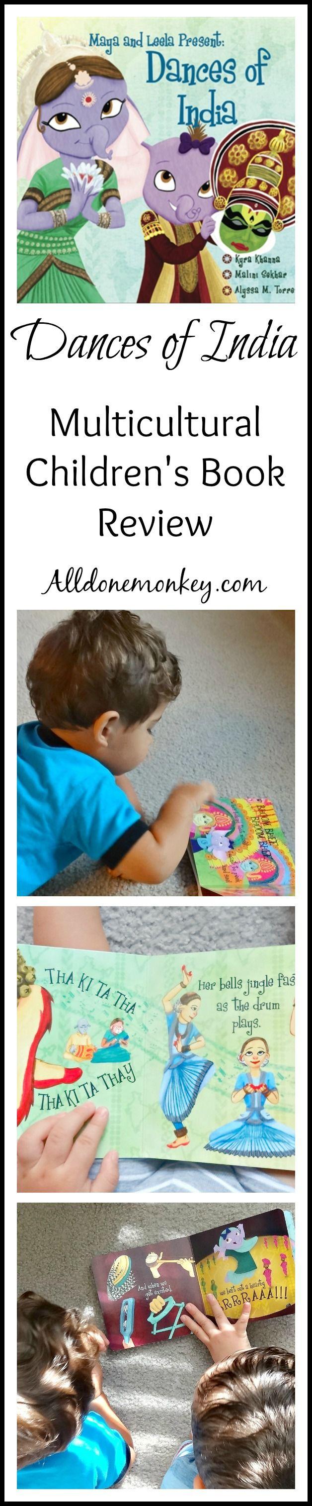 Dances of India Multicultural Children's Book Review | Alldonemonkey.com