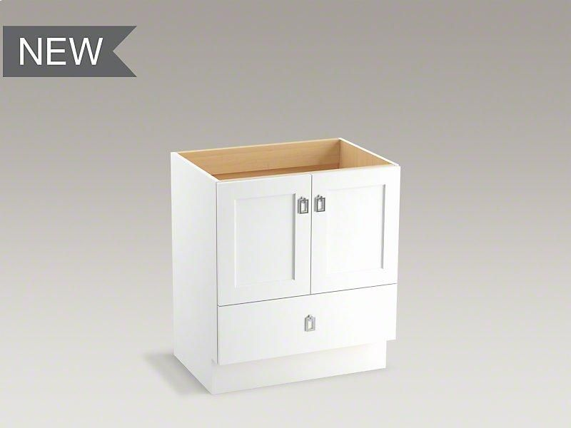 30 Bathroom Vanity Drawers k99529tk1wa in linen whitekohler in chicago, il - linen white