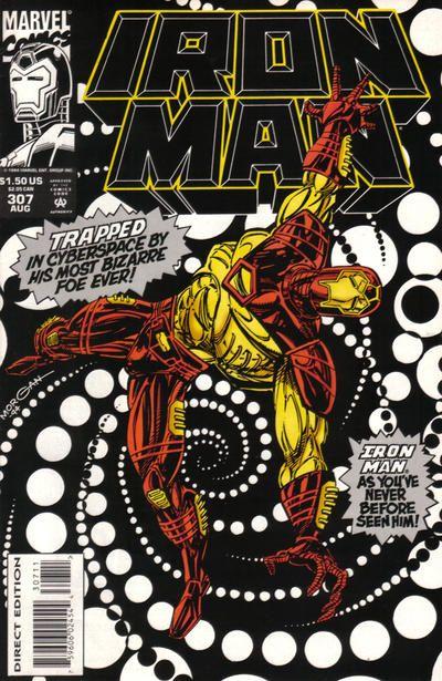 Iron Man # 307 by Tom Morgan