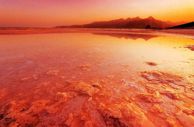 The Red Lake #Persia #Iran