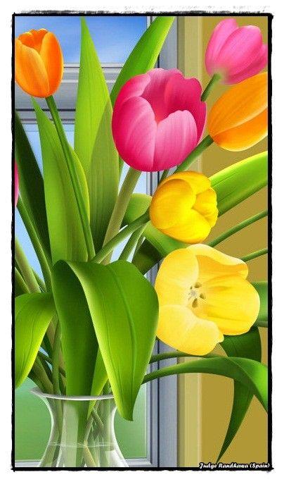 pingl par juan otero rey sur pintando pinterest fleurs peintes toiles et p ques. Black Bedroom Furniture Sets. Home Design Ideas