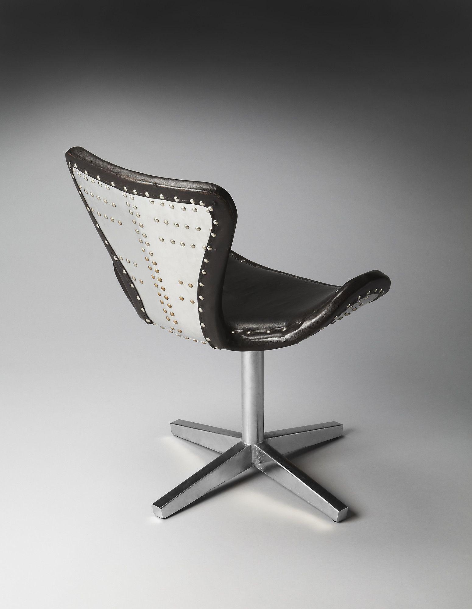 Leather aviator chair Aviator design Pinterest