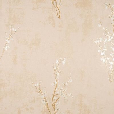 York Wallcoverings Enchantment Zen 33 X 208 Floral And Botanical Foiled Wallpaper Color