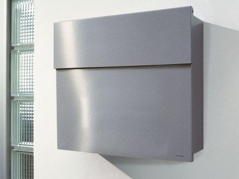 Briefkasten Lettermann radius design briefkasten letterman 4 edelstahl