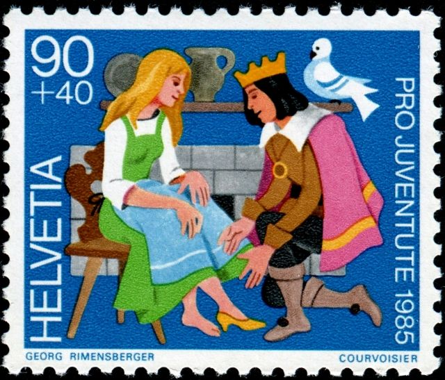 fairy tale postage stamp