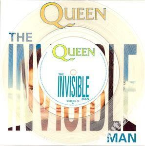 QUEEN  - THE INVISIBLE MAN  CLEAR/MINT 7