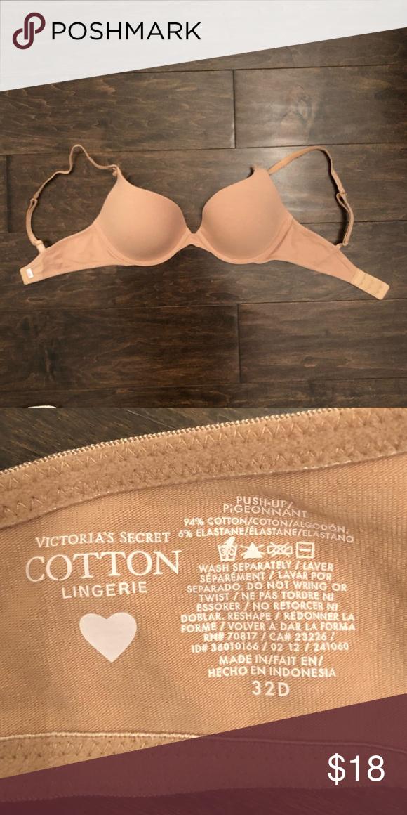 74c3c679bd196 Victoria s Secret push-up bra Dark nude