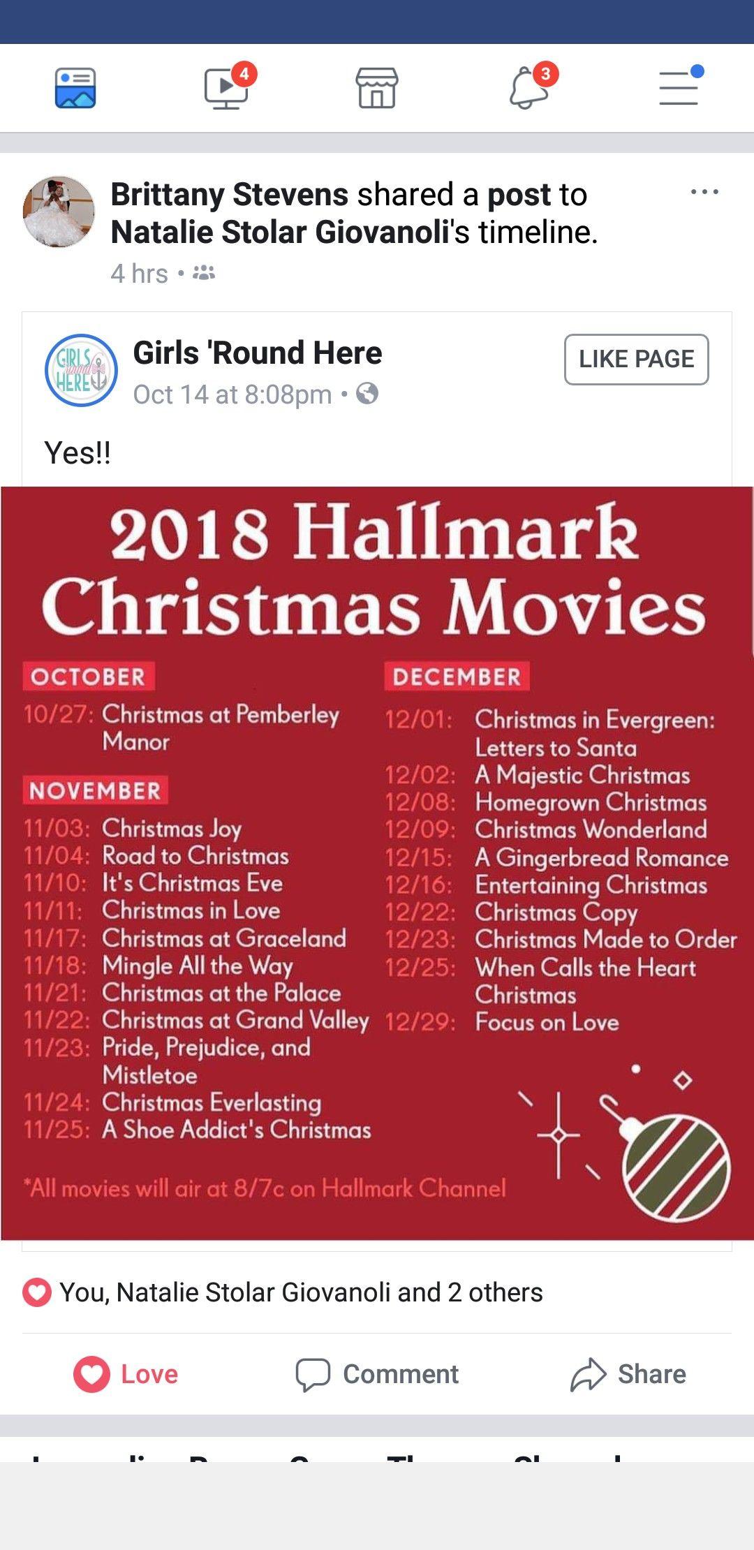 Pin by Dana Neiding on Holiday Ideas Hallmark christmas