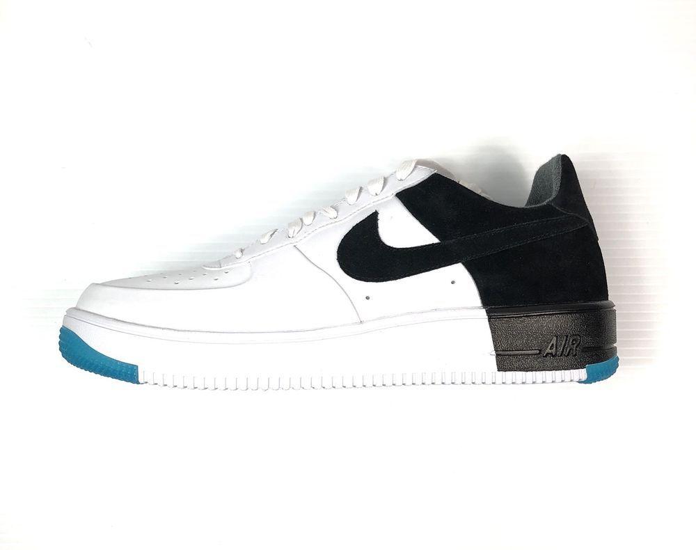 Nike Air Force 1 Ultraforce N7 Size 12 Men s White Black Turquoise New  c9fda0e393