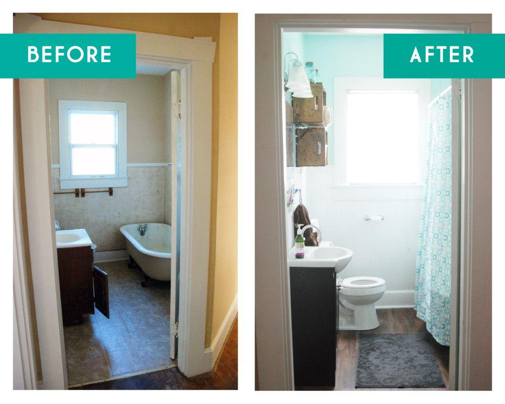 DIY Bathroom Reno for under $1000 www.simplesanctuaryblog ...