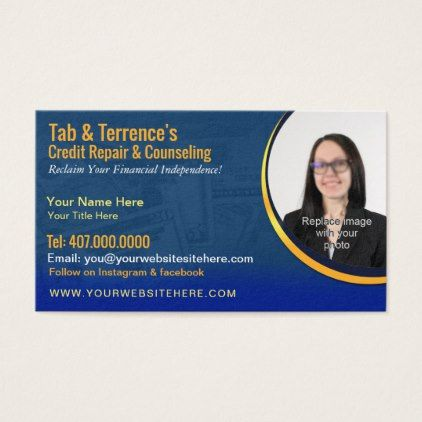 Credit repair counseling business card template pinterest credit repair counseling business card template personalize gift idea special custom diy or cyo colourmoves