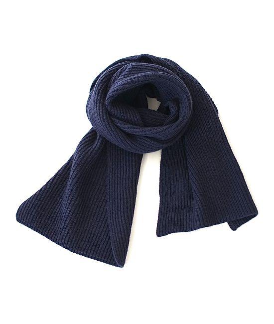 Johnstons カシミアマフラー(NAVY) http://floraison.shop-pro.jp/?pid=84117736