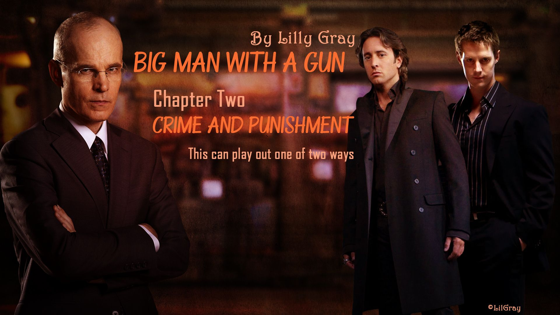 Big Man with a Gun chapter banner for Chapter 002: Crime and