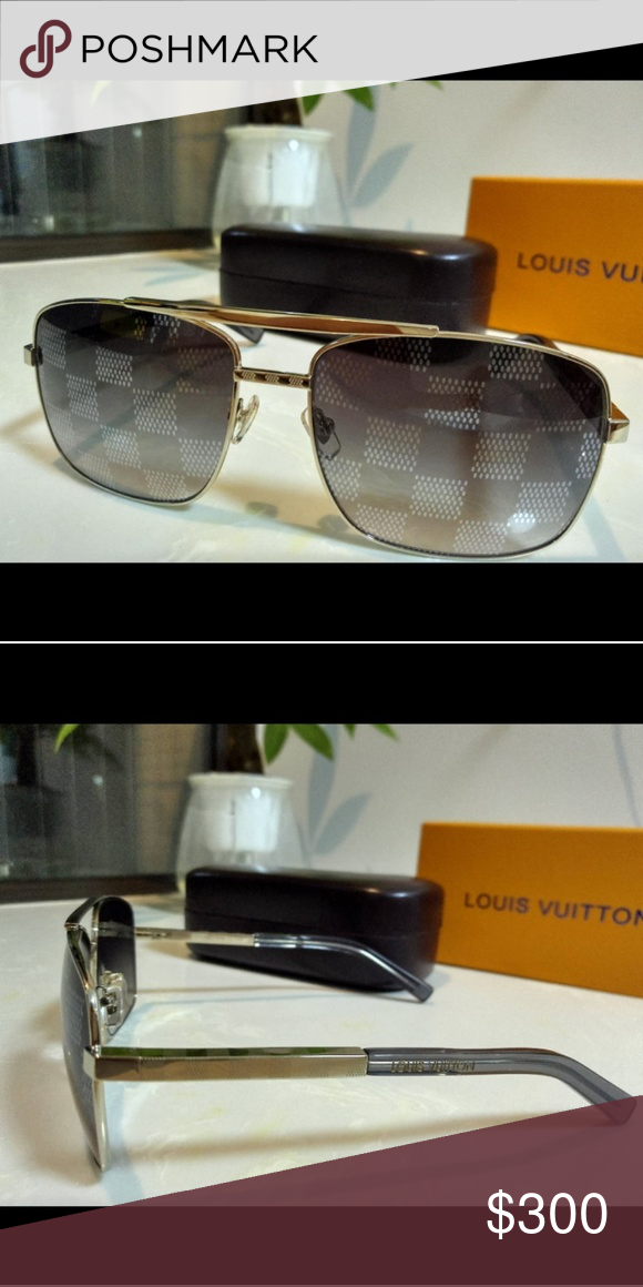2ae3be018bf Customized damier lenses Monogramed Louis Vuitton Accessories Sunglasses