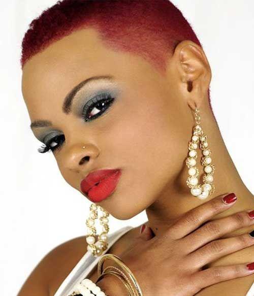 10 Best Very Short Hairstyles for Black Women | http://www.short-haircut.com/10-best-very-short-hairstyles-for-black-women.html