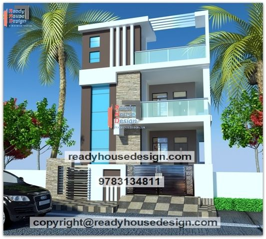 Two Floor House Design In India In Small   Front elevation ...
