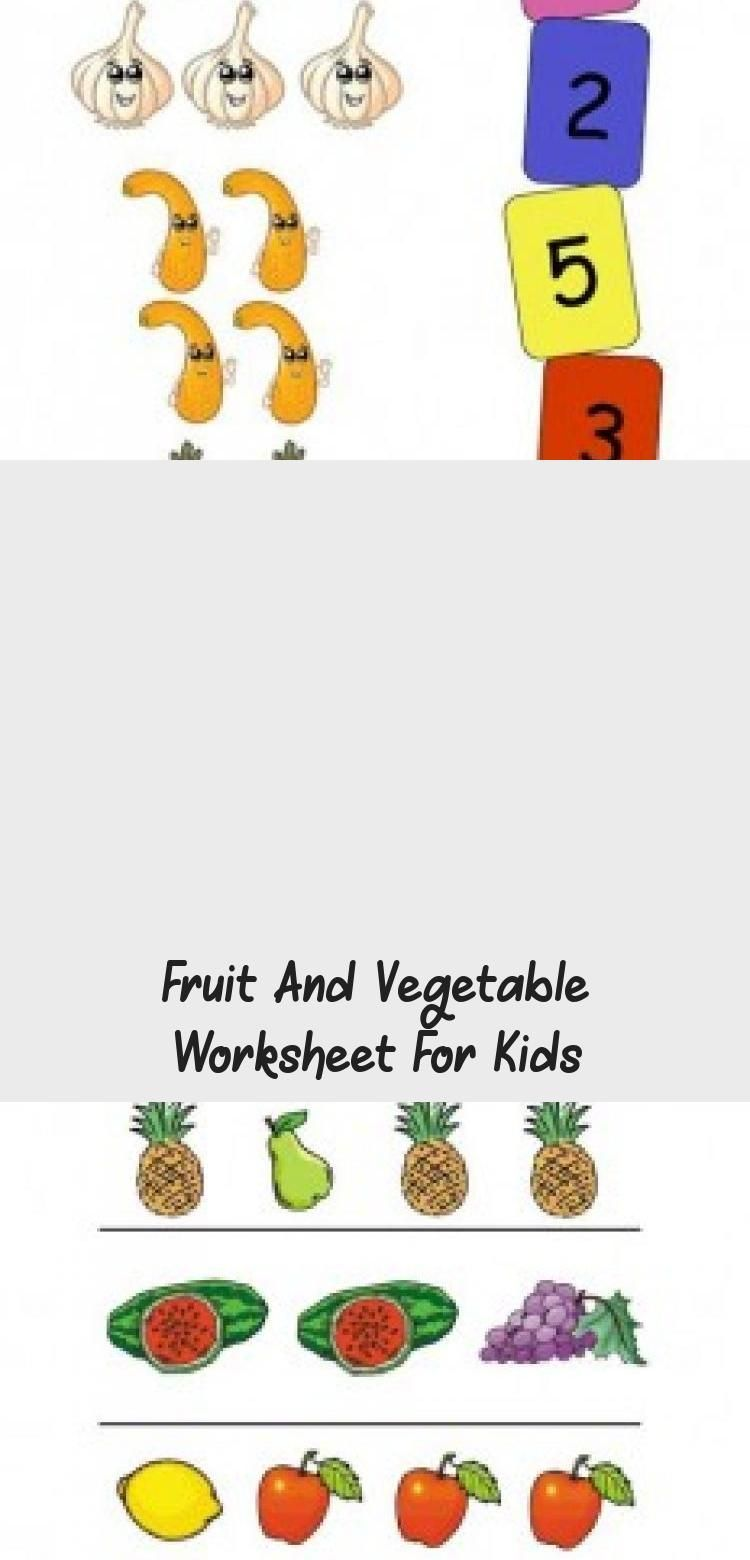 Fruit And Vegetable Worksheet For Kids Toys In 2020 Worksheets For Kids Preschool Worksheets Worksheets [ 1560 x 750 Pixel ]