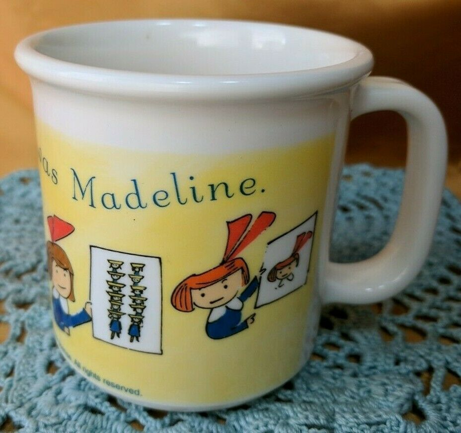 The Smallest One Was Madeline In Paris Selandia Melamine Children S Cup Mug 1999 Selandia Childrens Cup Mugs Small One