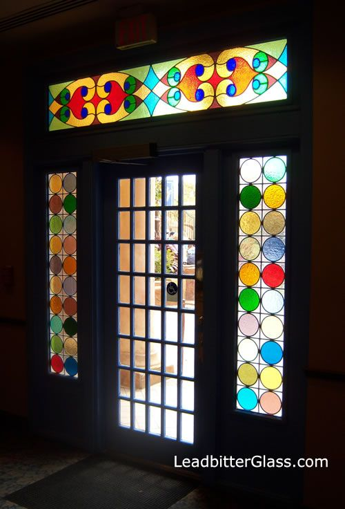 Stained Glass Inspirations Stained Glass Door Faux Stained Glass Stained Glass Windows