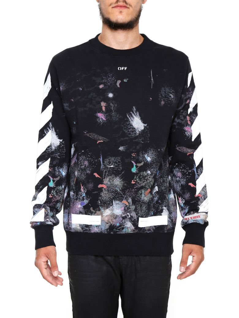 OFF-WHITE Diag Galaxy Sweatshirt. #off-white #cloth #https: | Off ...