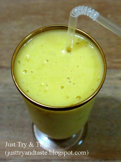 Resep Smoothies Pisang : resep, smoothies, pisang, Resep, Smoothie, Mangga, Pisang, Smoothie,, Makanan, Manis,