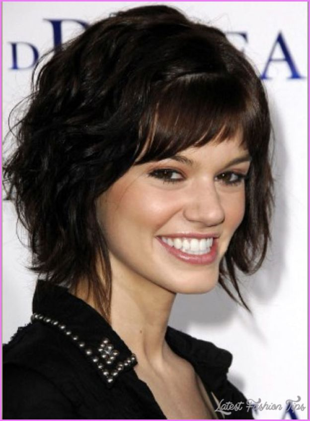Cool Short Haircuts Thick Curly Hair Latestfashiontips Pinterest