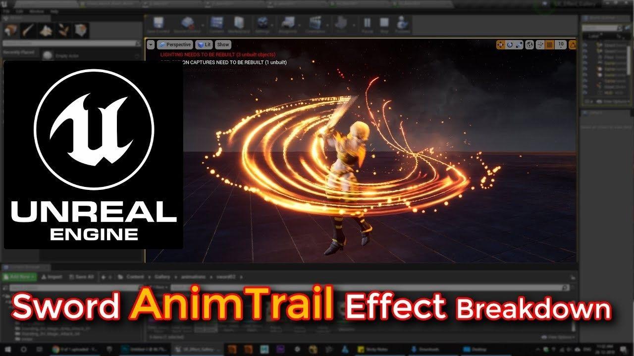 Unreal Engine Vfx Tutorial Https Youtube Com Asif786ali1 Https Cghow Com Follow Cghow For More Posts Unreal U Design De Jogo Unreal Engine 4 Jogos