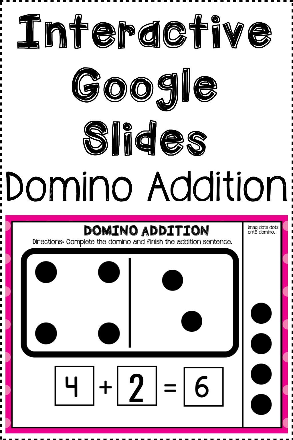 Distance Learning Interactive Google Slides Domino Addition Missing Addend Video Video Google Classroom Math Google Classroom Activities Distance Learning [ 1536 x 1024 Pixel ]