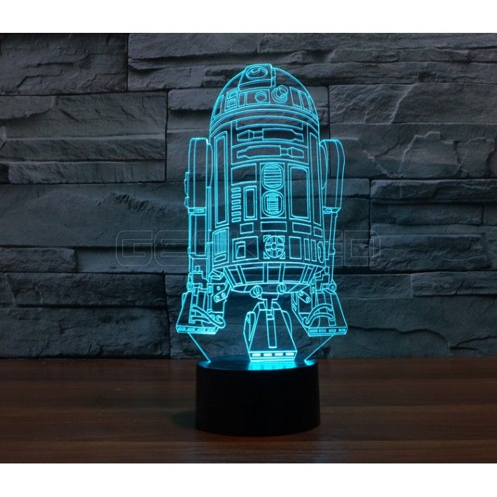 3d Optical Illusion Lamp Night Light Warship Geekled Gift Star Wars Lamp 3d Led Night Light 3d Led Light