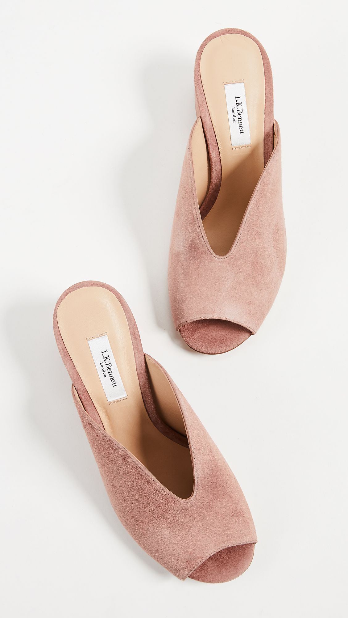 50ad552946b Kollette - L.K. Bennett Ola Block Heel Mules - The world s largest fashion  stores in one place!