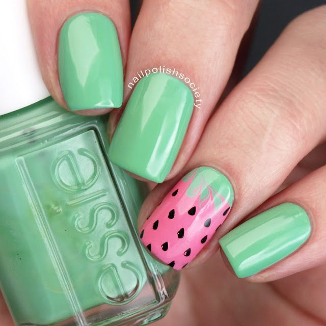 Nail Polish Society>> 40 Great Nail Art Ideas: Food | Nails ...