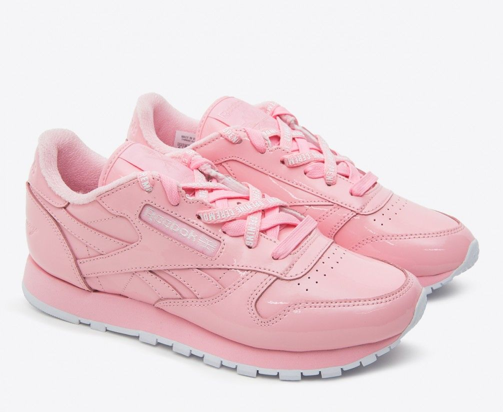 070845484 REEBOK x OPENING CEREMONY - CL LEATHER 'PINK GLOW' | my love for ...