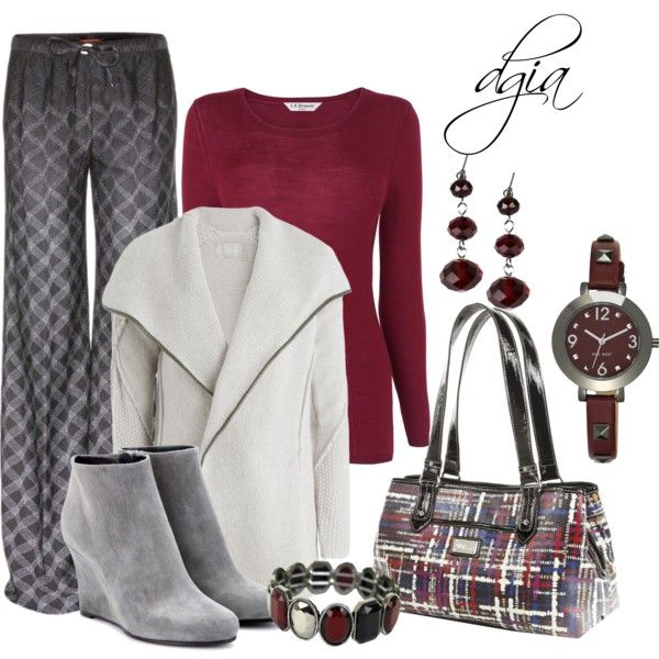 """2 patterns"" by dgia on Polyvore"