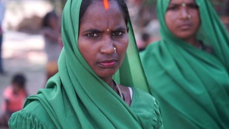 Indian women form a gang and roam their village, punishing