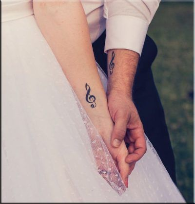 Los Tatuajes De Notas Musicales Representan Una De Las Maneras Mas