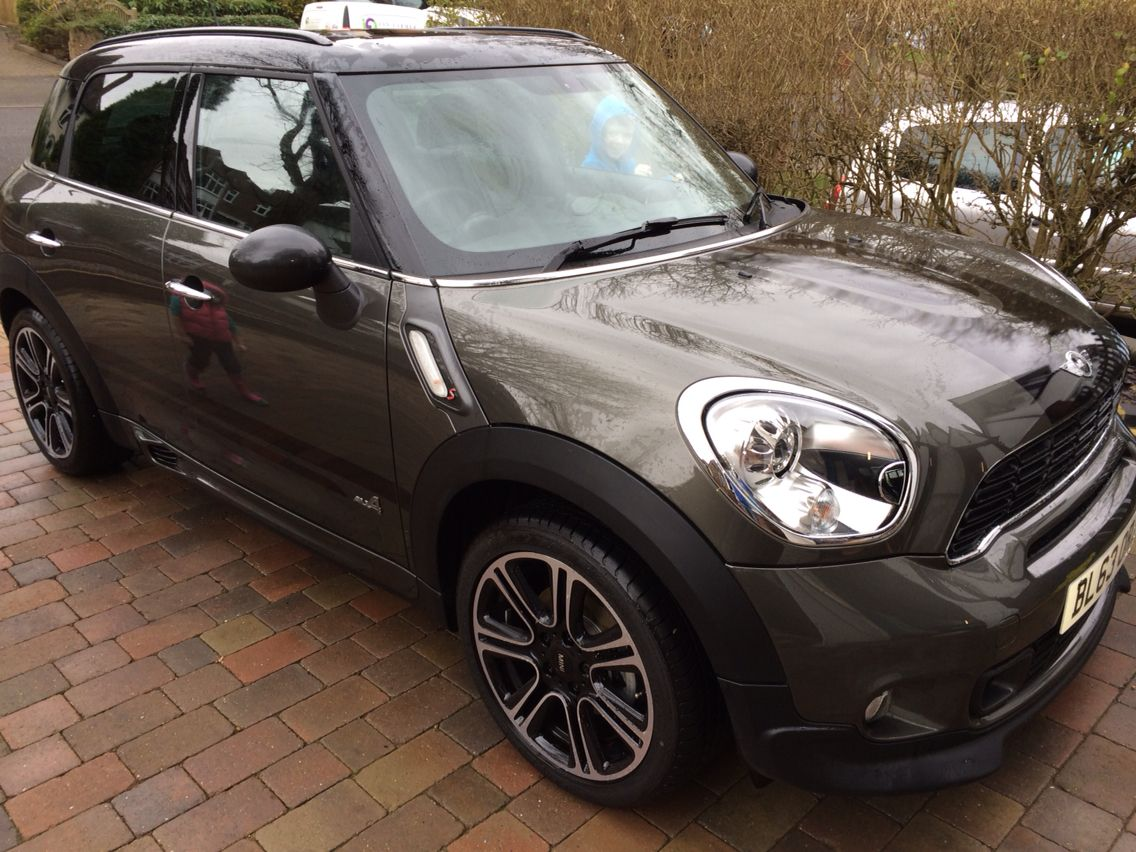 mini countryman all4 sd jcw body kit cars pinterest. Black Bedroom Furniture Sets. Home Design Ideas