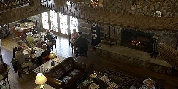 The Swinging Bridge Restaurant In Craig County Star City